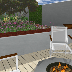 Modern garden design, Whitstable, Mark Lane Designs