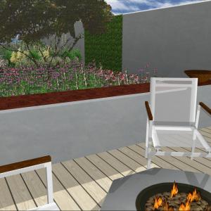 Modern garden design, Whitstable, Mark Lane Designs