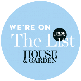Contact Details on House & Garden The List Logo