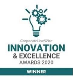 Corporate Live Wire Magazine Innovation & Excellence Awards 2020 Winner