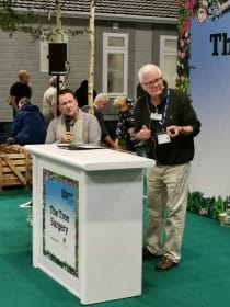 Mark at GWLive with Patrick for Woodland Trust