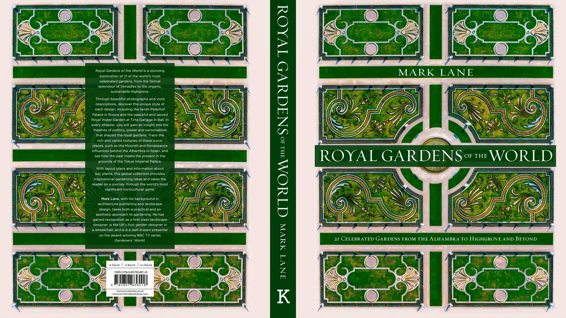 Royal Gardens of the World, Mark Lane, Kyle Books, Cover
