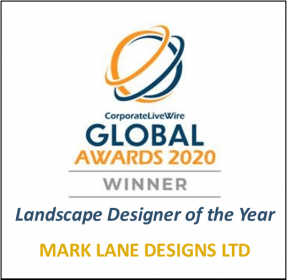 Winner Landscape Designer of the Year 2020, Mark Lane Designs Ltd