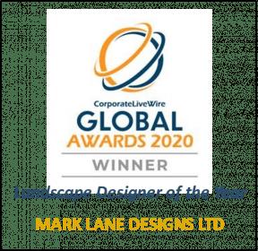 Winner Landscape Designer of the Year 2020, Mark Lane Designs Ltd