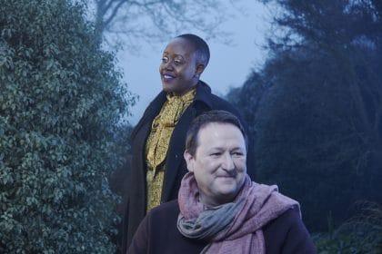 ITV Ident Mark Lane and Sharon Walters