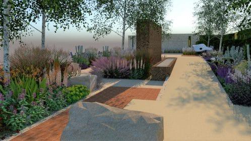 Concept for Show Garden for Autumn RHS Chelsea Flower Show 2021