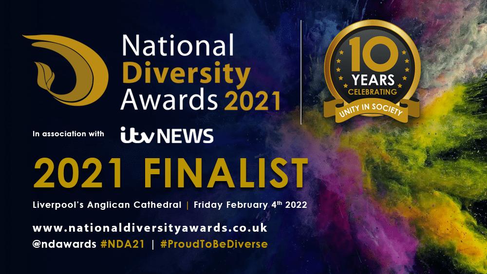 Celebrity of the Year, Finalist, Mark Lane, National Diversity Awards